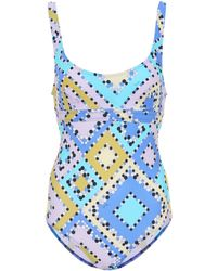 Emilio Pucci - Printed Swimsuit - Lyst