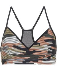 The Upside | Andie Camouflage Bra | Lyst