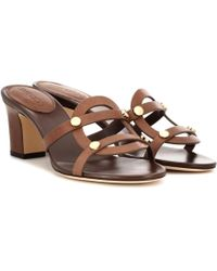 8f9514a62736 Jimmy Choo - Damaris 65 Leather Sandals - Lyst
