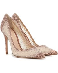 Gianvito Rossi Exclusive To Mytheresa – Rania Crystal-embellished Pumps