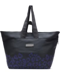 726ce26251 Adidas By Stella Mccartney Iconic Big Bag Blacksharp Grey in Gray - Lyst