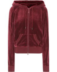 PUMA - Hooded Velour Jacket - Lyst