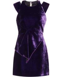 Roland Mouret - Exclusive To Mytheresa.com – Torrens Velvet Dress - Lyst