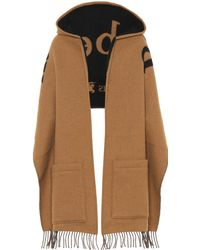 Burberry - St Helen Wool And Cashmere Scarf - Lyst
