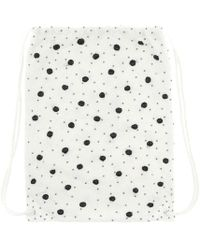 Ganni - Wintour Beaded Backpack - Lyst