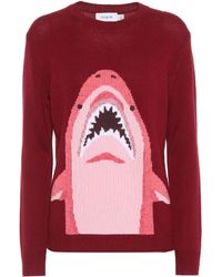 COACH - Sharky Wool And Cashmere Jumper - Lyst