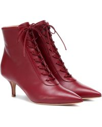 Gianvito Rossi - Exclusive To Mytheresa – Gillian 55 Leather Ankle Boots - Lyst