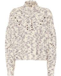 Isabel Marant - Jilly High Neck Wool Sweater - Lyst