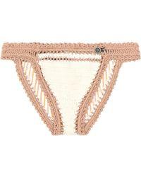 She Made Me - Sana Crocheted Bikini Bottoms - Lyst