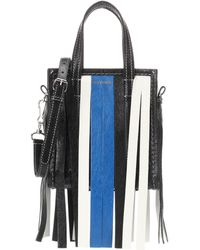 Balenciaga - Bazar Fringes Xxs Leather Shopper - Lyst