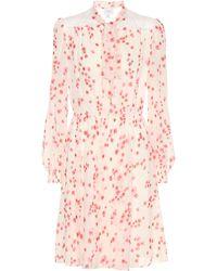 Giambattista Valli - Floral-printed Silk Dress - Lyst