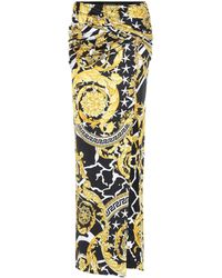 96ce05f42 Women's Versace Skirts Online Sale - Lyst
