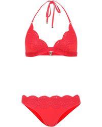 Stella McCartney - Scalloped Bikini - Lyst