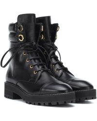 Stuart Weitzman - Lexy Leather Ankle Boots - Lyst