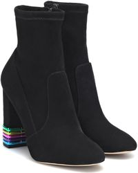 Sophia Webster - Bottines Felicity en daim - Lyst