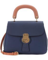Burberry - The Medium Dk88 Leather Top Handle Bag - Lyst