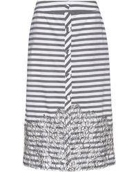 Johanna Ortiz - Tanzania Striped Cotton Skirt - Lyst