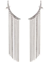 Oscar de la Renta | Crystal-embellished Earrings | Lyst