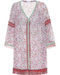 Poupette - Pippa Printed Cotton Dress - Lyst