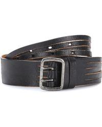 Saint Laurent - Leather Belt - Lyst