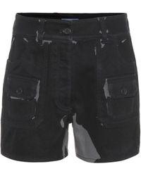 Prada - Shorts aus Stretch-Baumwolle - Lyst