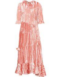 Rejina Pyo - Alina Velvet Dress - Lyst