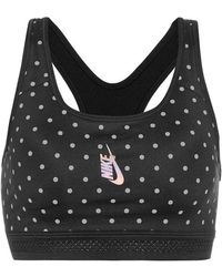 Nike - Top lab Essential a pois - Lyst
