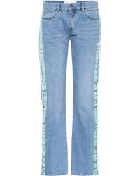 Victoria, Victoria Beckham - Low-rise Straight-leg Jeans - Lyst