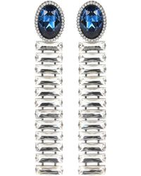 Stella McCartney - Crystal-embellished Earrings - Lyst