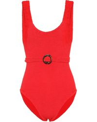 Hunza G - Solitaire Swimsuit - Lyst