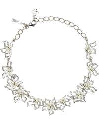 Oscar de la Renta - Collar adornado con cristales - Lyst