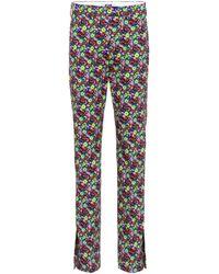 MSGM - Bedruckte Hose aus Baumwolle - Lyst