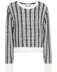 Public School - Pull en laine mélangée à rayures Nabila - Lyst