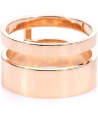 Repossi - Berbere Module 18kt Rose Gold Ring - Lyst