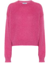 Prada - Exclusive To Mytheresa – Mohair-blend Sweater - Lyst