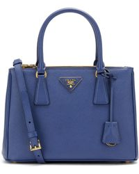 Prada - Galleria Saffiano Small Leather Shoulder Bag - Lyst