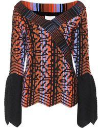 Peter Pilotto - Wool-blend Sweater - Lyst