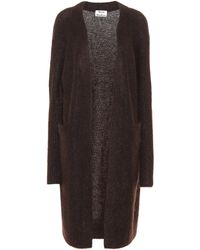 Acne Studios - Raya Wool And Mohair Blend Cardigan - Lyst