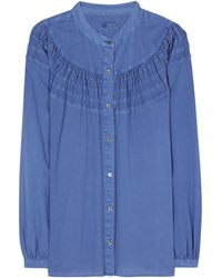 Closed - Cotton Blouse - Lyst
