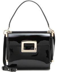 Roger Vivier   Miss Viv' Carré Small Patent Leather Shoulder Bag   Lyst