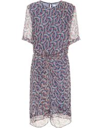 Étoile Isabel Marant - Barden Silk Minidress - Lyst