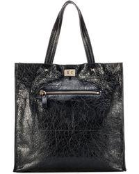 Valentino - Leather Shopper - Lyst