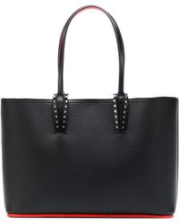 Christian Louboutin - Cabata Small Leather Tote - Lyst