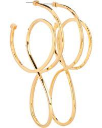 Balenciaga - Hoop Earrings - Lyst