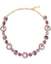 Dolce & Gabbana - Crystal-embellished Necklace - Lyst