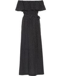 ca761b7633 Lisa Marie Fernandez - Mira Flounce Cotton Off-the-shoulder Dress - Lyst