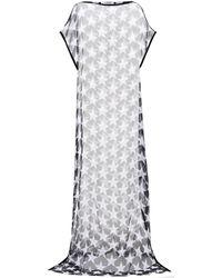 Givenchy | Printed Silk Kaftan | Lyst
