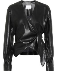 Nanushka - Faux Leather Top - Lyst