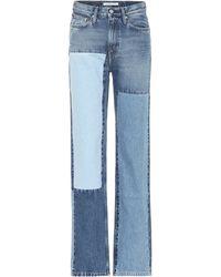 Calvin Klein - Jeans CKJ 030 rectos de tiro alto - Lyst