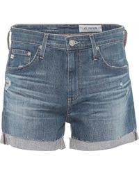 AG Jeans - Hailey Denim Shorts - Lyst